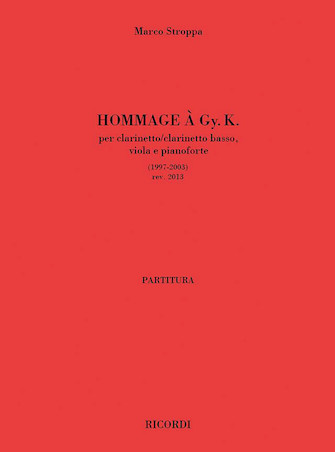 Product Cover for Hommage a Gy. K.