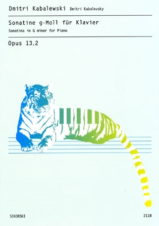 Product Cover for Sonatina in G Minor for Piano, Op. 13, 2