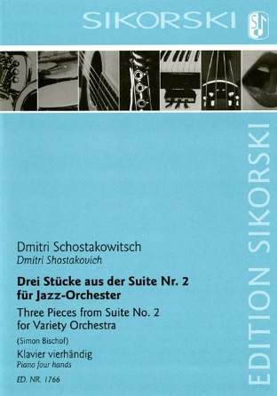 Product Cover for 3 Pieces from Suite No. 2 (For Variety Orchestra)