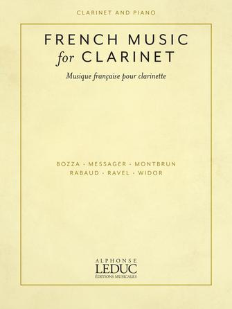 Product Cover for French Music for Clarinet