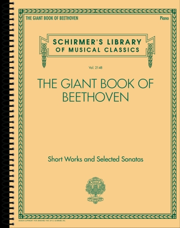 Product Cover for The Giant Book of Beethoven: Short Works and Selected Sonatas