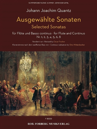 Product Cover for Selected Sonatas Flute and Basso Continuo