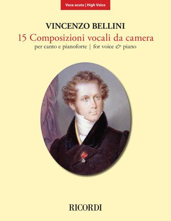 Product Cover for 15 Composizioni Vocali da Camera – High Voice