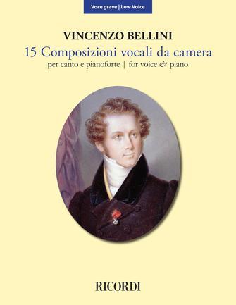 Product Cover for 15 Composizioni Vocali da Camera – Low Voice