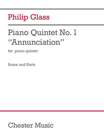 """Product Cover for Piano Quintet No. 1 """"Annunciation"""""""