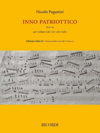 Inno Patriottico - Paganini Ricordi