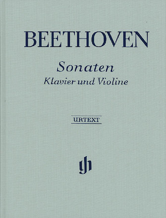 Product Cover for Sonatas for Piano and Violin – Volumes I & II