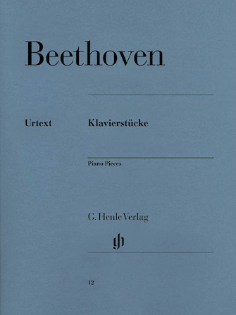 Product Cover for Piano Pieces [Klavierstücke]