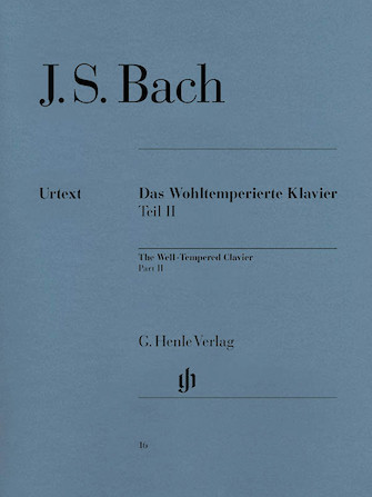Product Cover for The Well-Tempered Clavier – Part II, BWV 870-893
