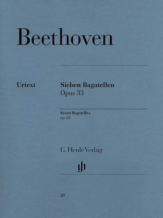 Product Cover for 7 Bagatelles Op. 33