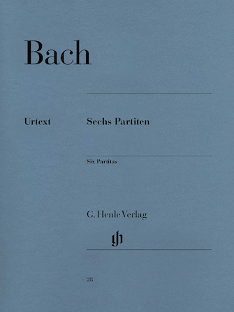 Product Cover for 6 Partitas BWV 825-830