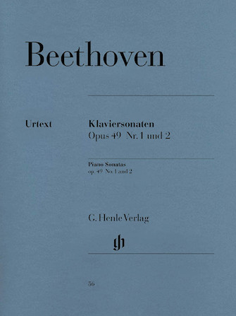 Product Cover for 2 Easy Piano Sonatas: No. 19 in G Minor Op. 49, No. 1 and No. 20 in G Major Op. 49, No. 2