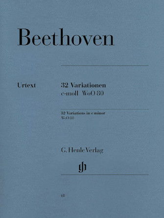 Product Cover for 32 Variations C Minor WoO 80