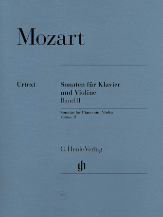 Product Cover for Sonatas for Piano and Violin – Volume II