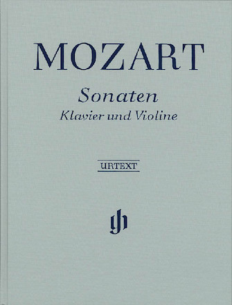 Product Cover for Sonatas for Piano and Violin – Volumes I-III