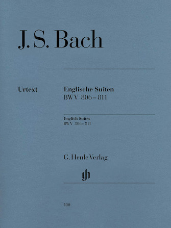 Product Cover for English Suites BWV 806-811