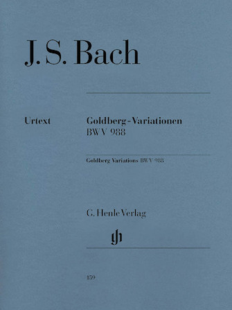 Product Cover for Goldberg Variations BWV 988