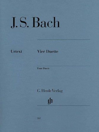 Product Cover for 4 Duets BWV 802-805