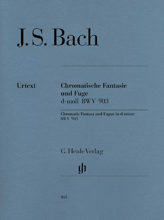 Product Cover for Chromatic Fantasy and Fugue D minor BWV 903 and 903a