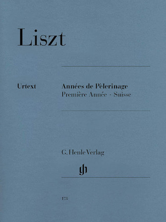 Product Cover for Années de Pèlerinage, Première Année: Suisse