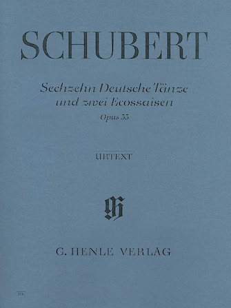 Product Cover for 16 German Dances and 2 Ecossaises Op. 33 D 783