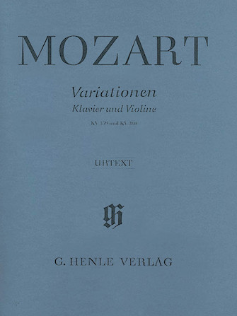Product Cover for Variations for Piano and Violin