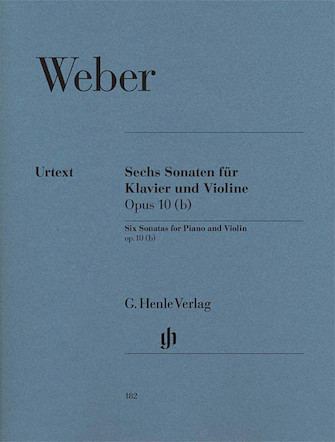 Product Cover for 6 Sonatas for Piano and Violin Op. 10 (b)