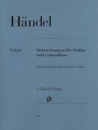 Product Cover for 7 Sonatas for Violin and Basso Continuo
