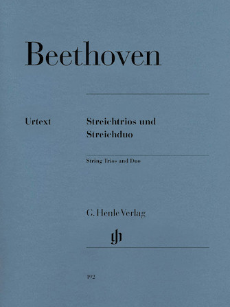 Product Cover for String Trios Op. 3, 8, and 9 and String Duo WoO 32