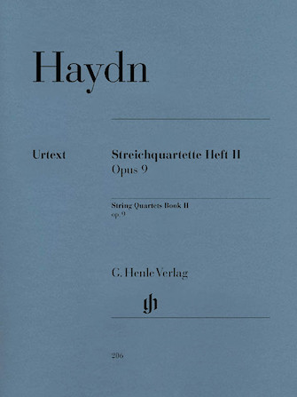 Product Cover for String Quartets – Volume II Op. 9
