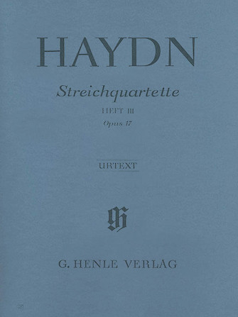Product Cover for Joseph Haydn – String Quartets Volume III, Op. 17