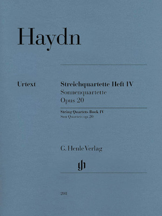 Product Cover for String Quartets, Vol. IV, Op. 20 (Sun Quartets)
