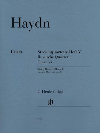 Product Cover for String Quartets, Vol. V, Op. 33 (Russian Quartets)