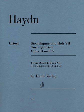 Product Cover for String Quartets, Vol. VII, Op. 54 and Op. 55 (Tost Quartets)