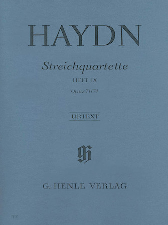 Product Cover for String Quartets – Volume IX Op. 71 and 74 (Appony-Quartets)