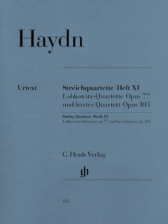 Product Cover for String Quartets – Volume XI Op. 77 and Op. 103
