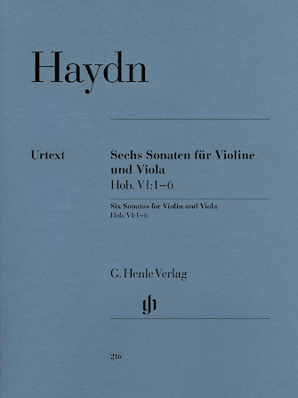 Product Cover for 6 Sonatas for Violin and Viola