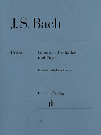 Product Cover for Fantasies, Preludes and Fugues