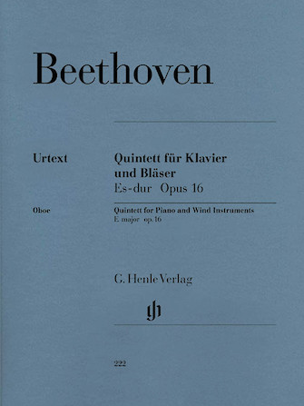 Quintet for Piano and Wind Instruments in E-flat Major, Op. 16