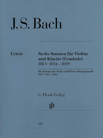 Product Cover for 6 Sonatas for Violin and Piano (Harpsichord) BWV 1014-1019