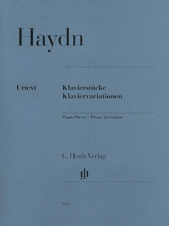 Product Cover for Piano Pieces – Piano Variations