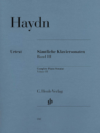 Product Cover for Complete Piano Sonatas – Volume III