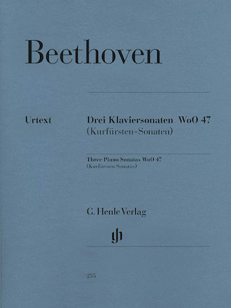 Product Cover for 3 Piano Sonatas WoO 47