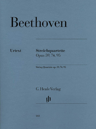 Product Cover for String Quartets Op. 59, 74, 95