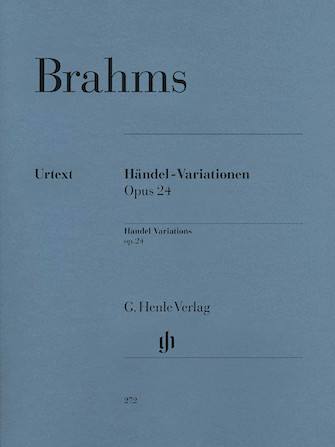 Product Cover for Händel Variations Op. 24