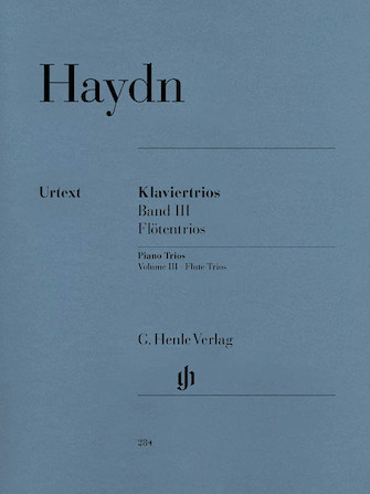 Product Cover for Piano Trios – Volume III: Flute Trios