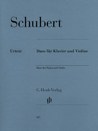 Duos for Piano and Violin