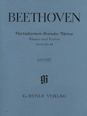 Product Cover for Variations, Rondo, & Dances