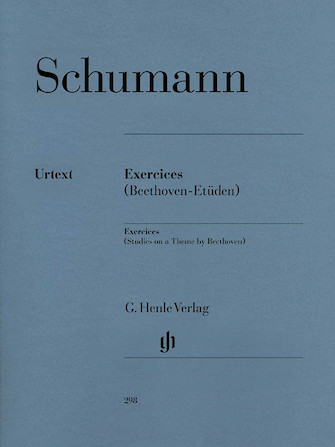 Product Cover for Exercises – Studies in Form of Free Variations on a Theme by Beethoven Anh. F 25