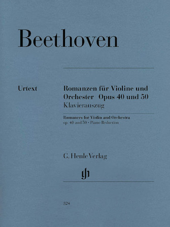 Product Cover for Romances for Violin and Orchestra Op. 40 & 50 in G and F Major